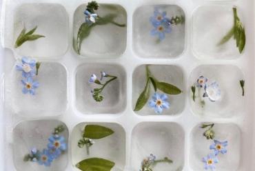 Умывание кубиками льда наносит вред нашей коже